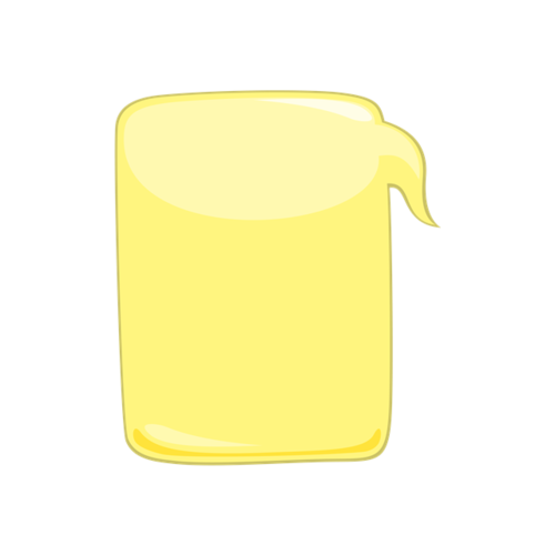 黄色矩形边框