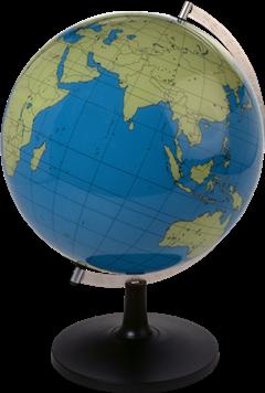 地球仪平面图片