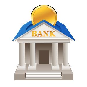 卡通银行建筑图片