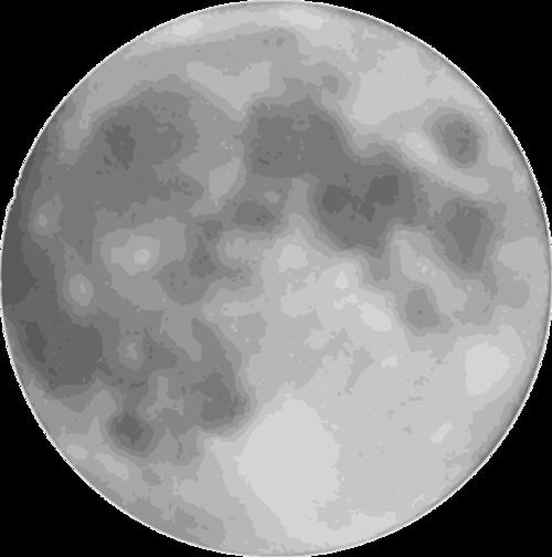 月亮实拍图片