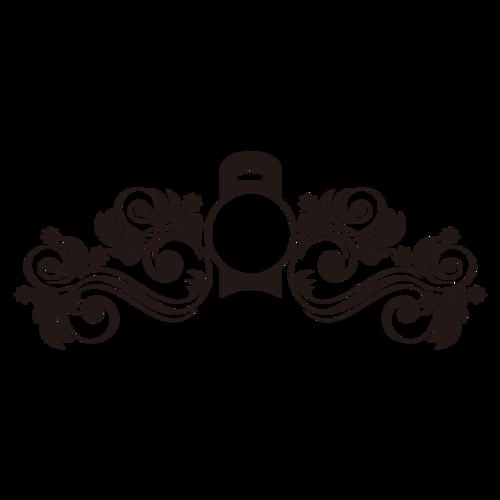 黑色边框装饰素材