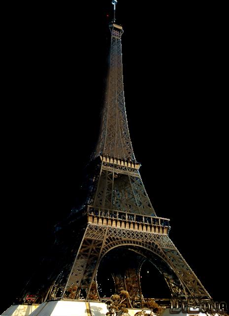 真实埃菲尔铁塔图片
