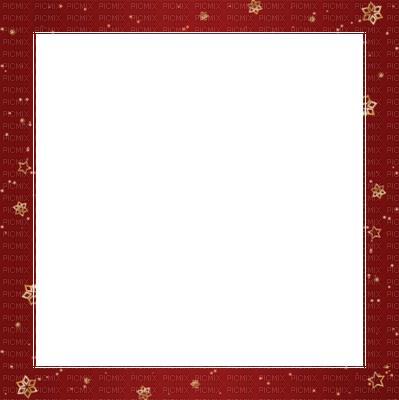 红色相框边框