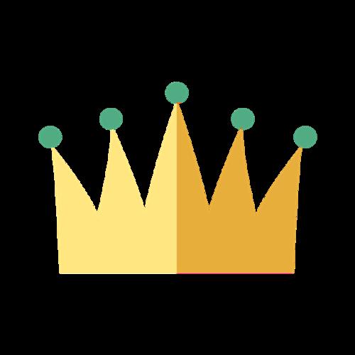 卡通手绘王冠图片