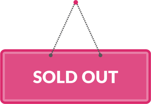 sold out吊牌标签