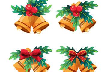圣诞节铃铛免抠图