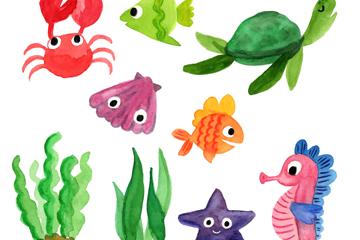 海洋动物元素