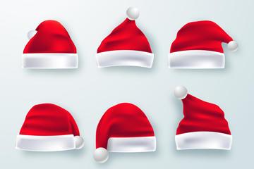 红色圣诞帽免抠图