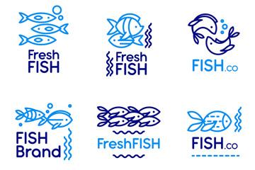 鱼创意设计图标