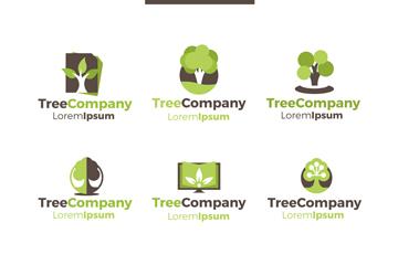 绿色企业logo标志图片