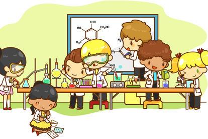 卡通化学实验插图