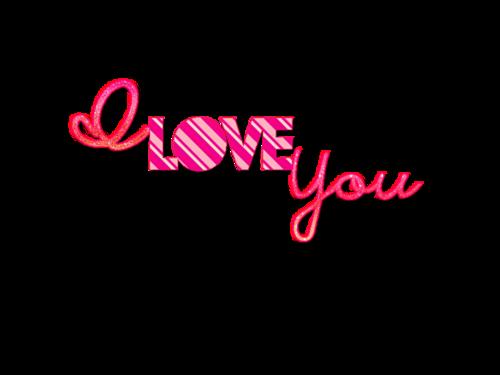 我爱你特殊字体