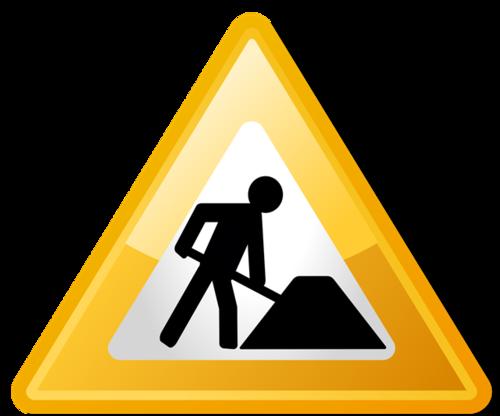 三角施工图标