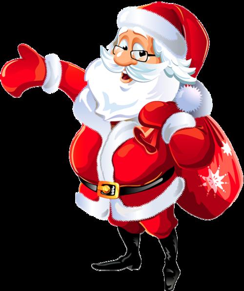圣诞老人插画图
