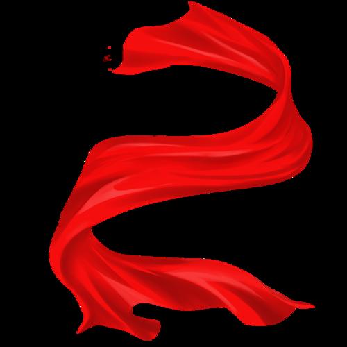 国庆节红丝绸绸缎