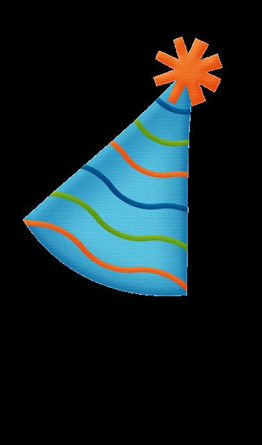 生日帽子矢量图