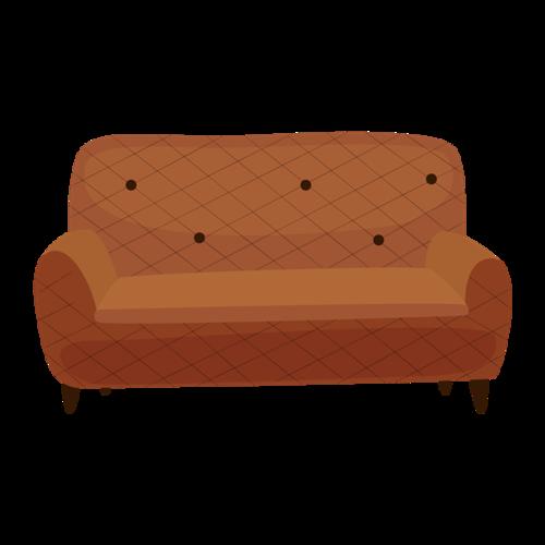生活家具沙发免抠素材