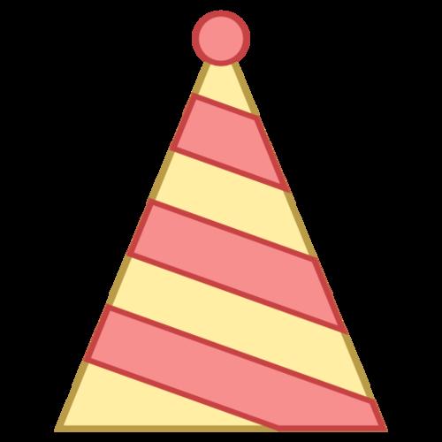 简笔画生日帽子图片