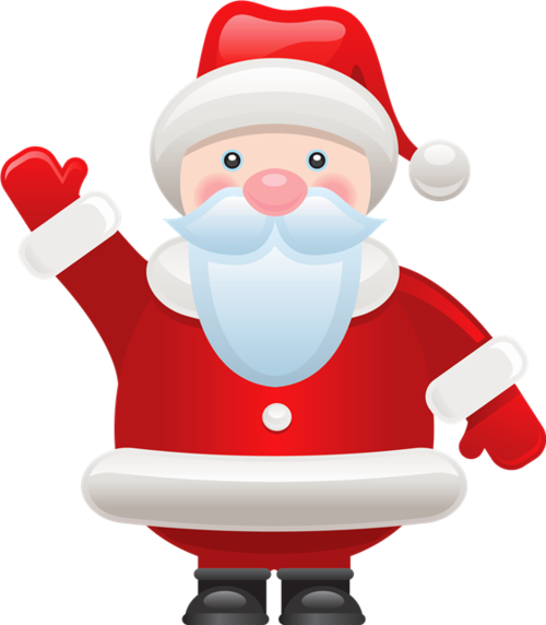 圣诞老人矢量图片