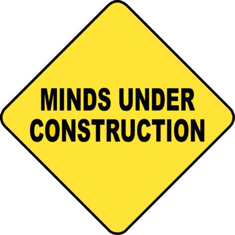 施工指示牌图片