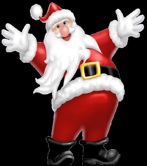 手绘圣诞老人