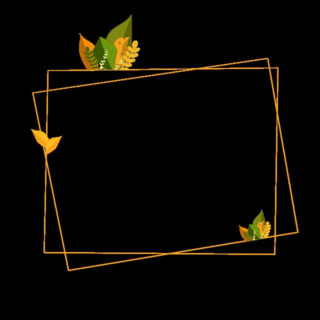 秋天元素边框