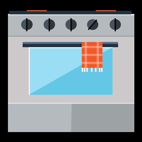 烤箱矢量图