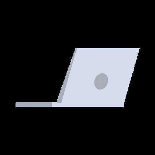 办公设备笔记本矢量图
