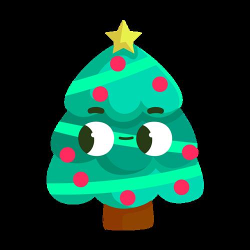 Q版圣诞树