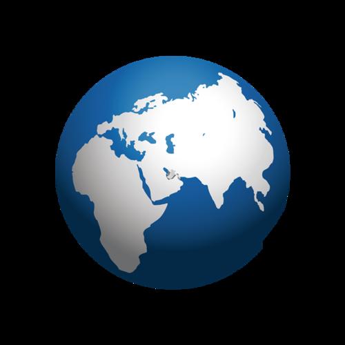 地球地图矢量图