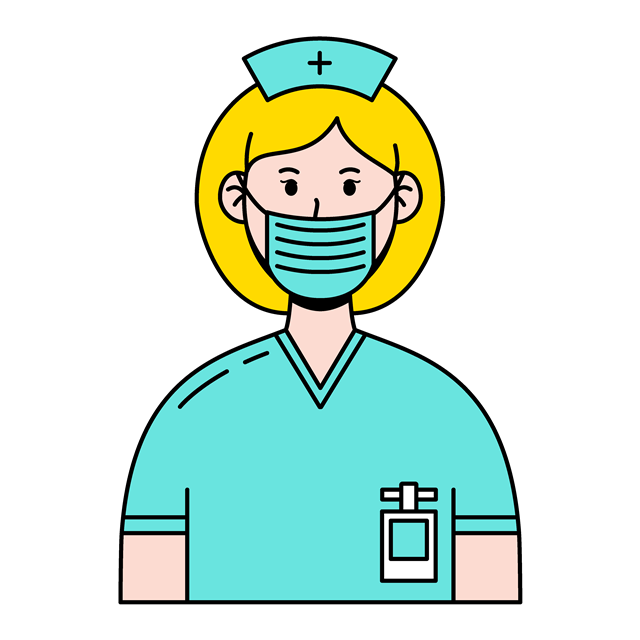 卡通护士矢量图