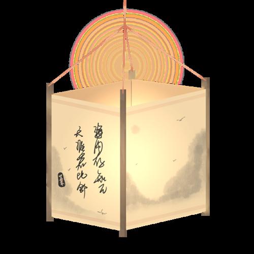中秋古风灯笼