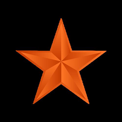 红色党建五角星