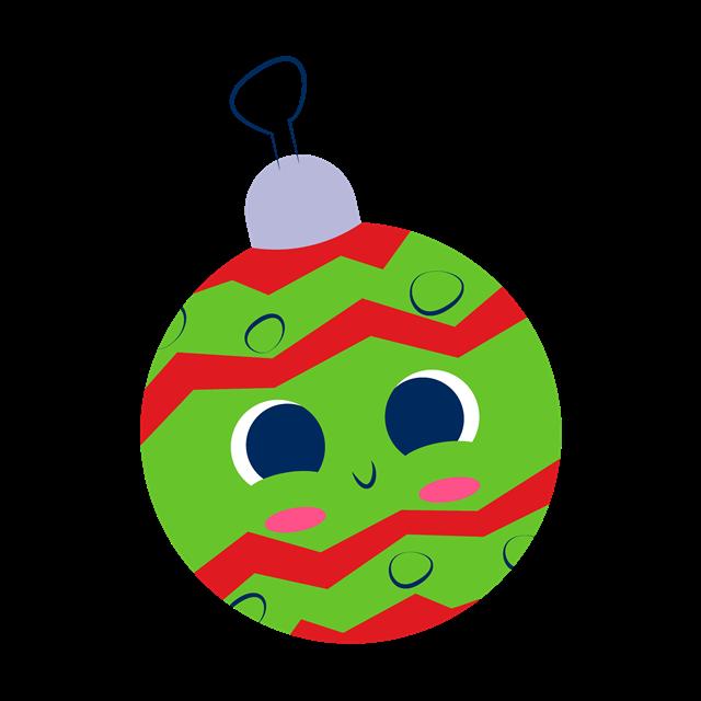 圣诞节圆球挂饰