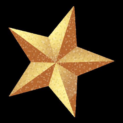 圣诞树五角星挂饰