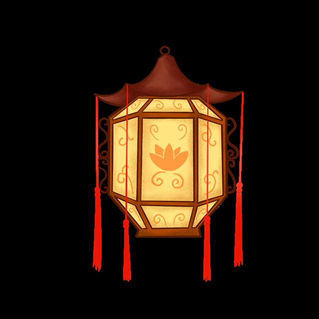 古风灯笼图案