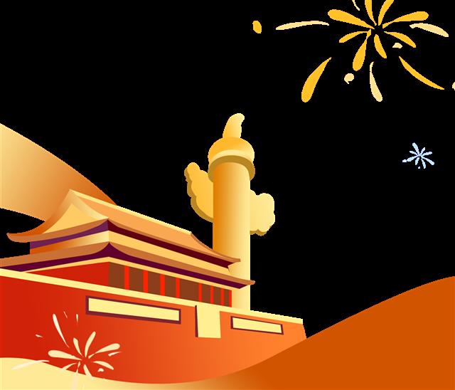 国庆天安门素材