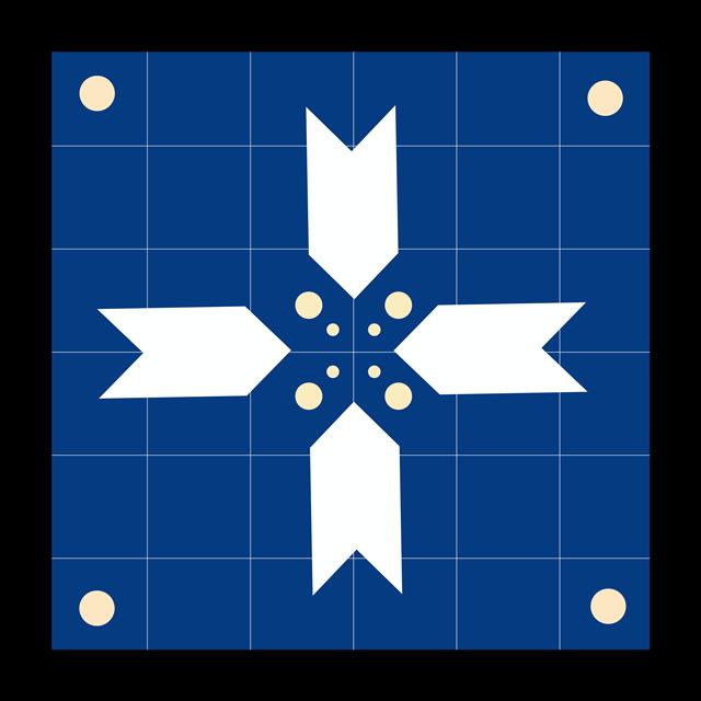 箭头正方形边框