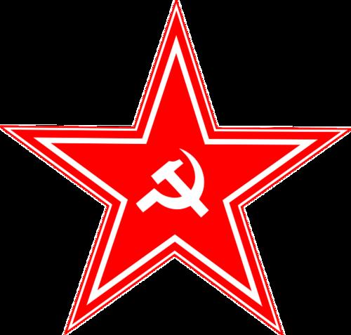 五角星党徽图片