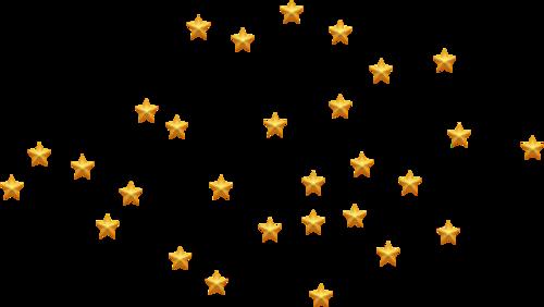 星星点缀图片