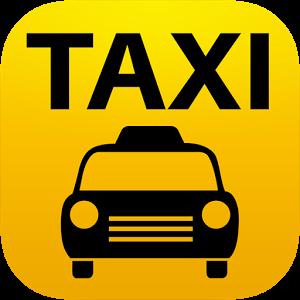 出租车标志矢量图