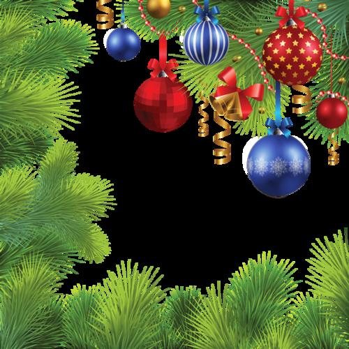 圣诞节边框装饰