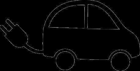 电动汽车矢量图