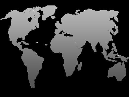 地球展开图