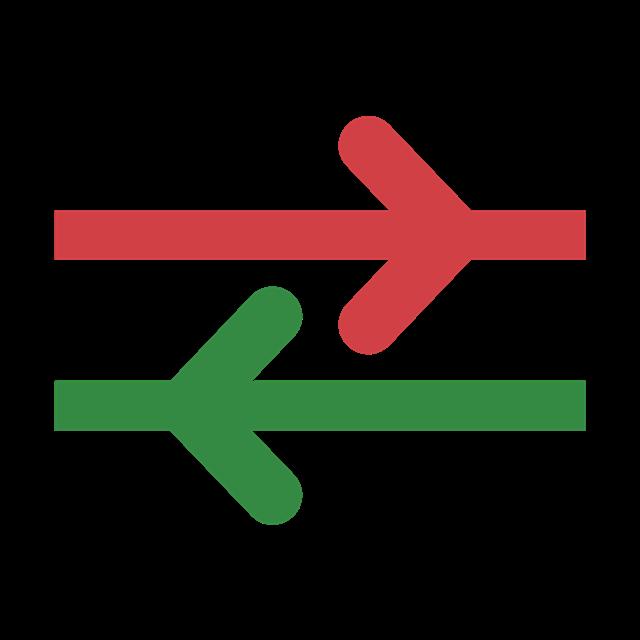 双向行驶标志