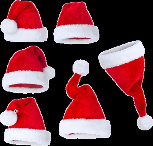 圣诞老人帽真实图片