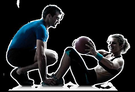 男女运动健身