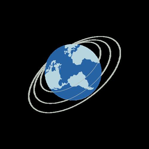 卡通简约地球图片