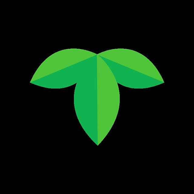 3D树叶插画