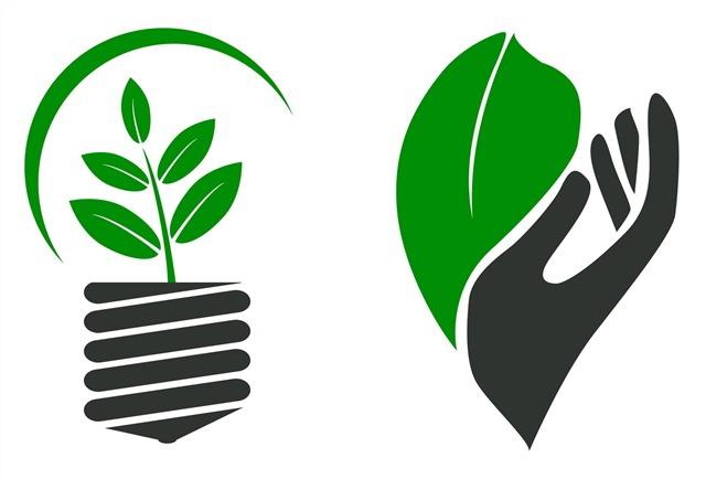 节能环保主题插画